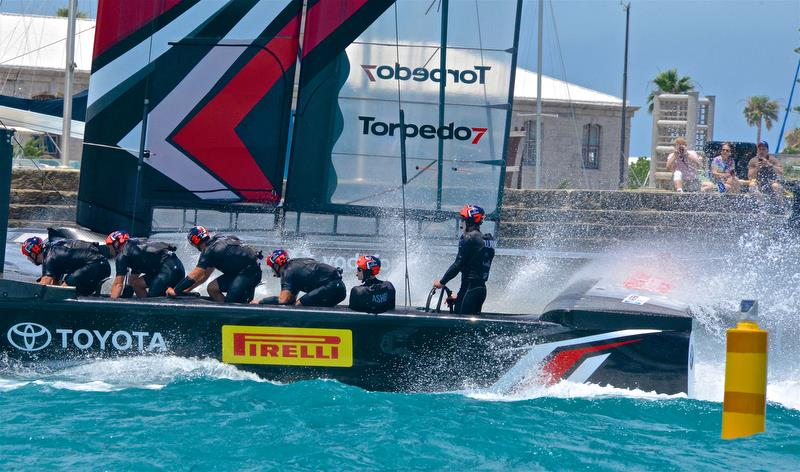 Fans in Auckland will get close up views of the America's Cup racing - photo © Scott Stallard