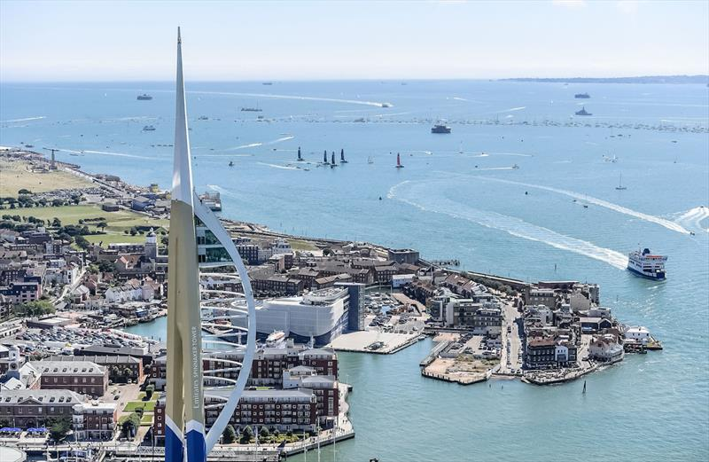 America's Cup World Series comes to Portsmouth in June 2020, presented by Emirates - photo © America's Cup World Series