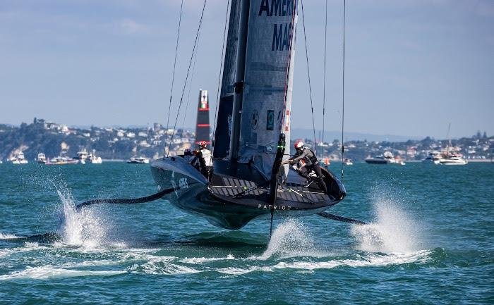 New York Yacht Club American Magic  on day 3 of PRADA ACWS Auckland - photo © Sailing Energy / American Magic
