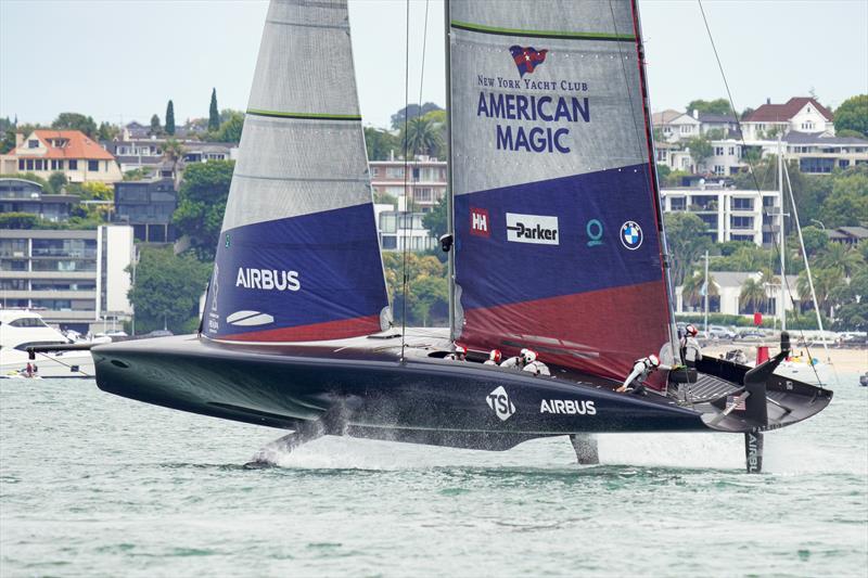 PRADA Cup Day 2: Round Robin 1 - New York Yacht Club American Magic - photo © COR36 / Studio Borlenghi