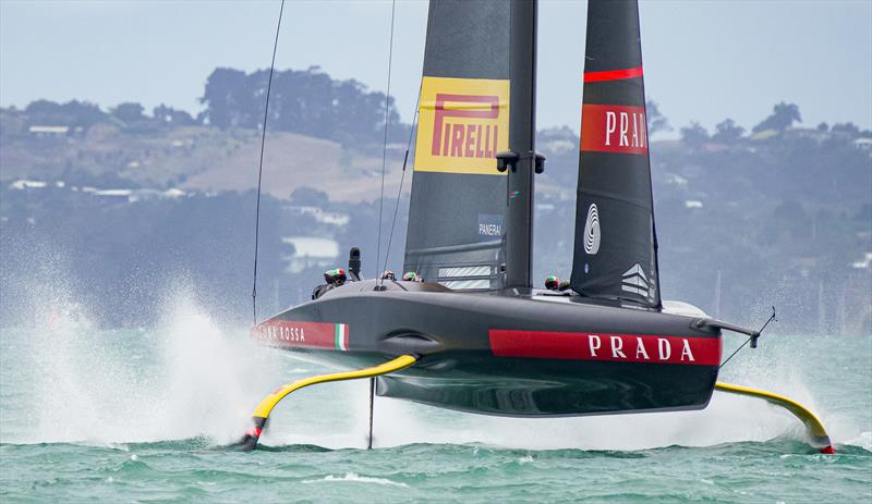 PRADA Cup Final day 2 - Tight match racing for Luna Rossa Prada Pirelli and INEOS TEAM UK - photo © COR36 / Studio Borlenghi