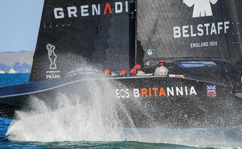 INEOS TEAM UK bow out of the PRADA Cup - photo © COR36 / Studio Borlenghi