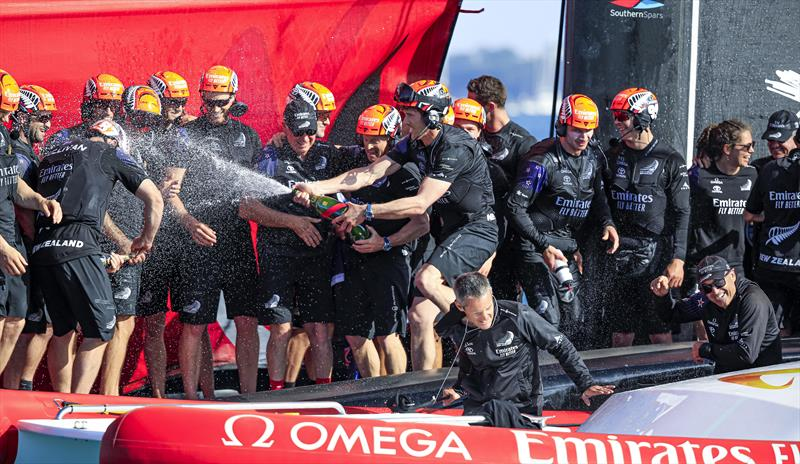 Emirates Team New Zealand win the 36th America's Cup - photo © ACE / Studio Borlenghi