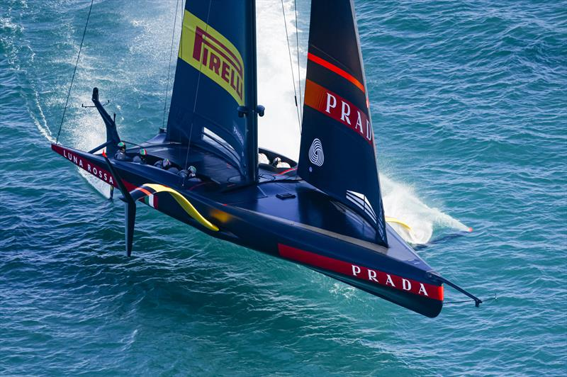 America's Cup: Luna Rossa's control systems explained
