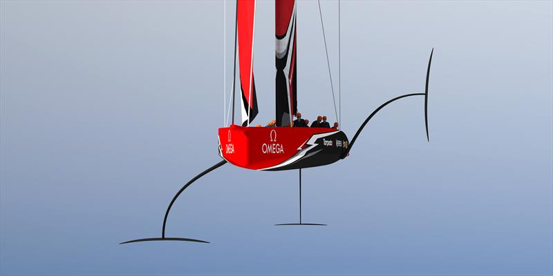 Emirates Team New Zealand - AC75 - 36th America's Cup - photo © America's Cup Media