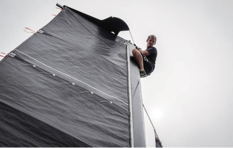 AC75 Double Luff Mainsail - photo © ETNZ Hamish Hooper
