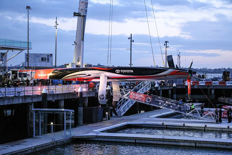 Emirates Team New Zealand launch the world's first AC75, Auckland, September 6, - photo © Richard Gladwell