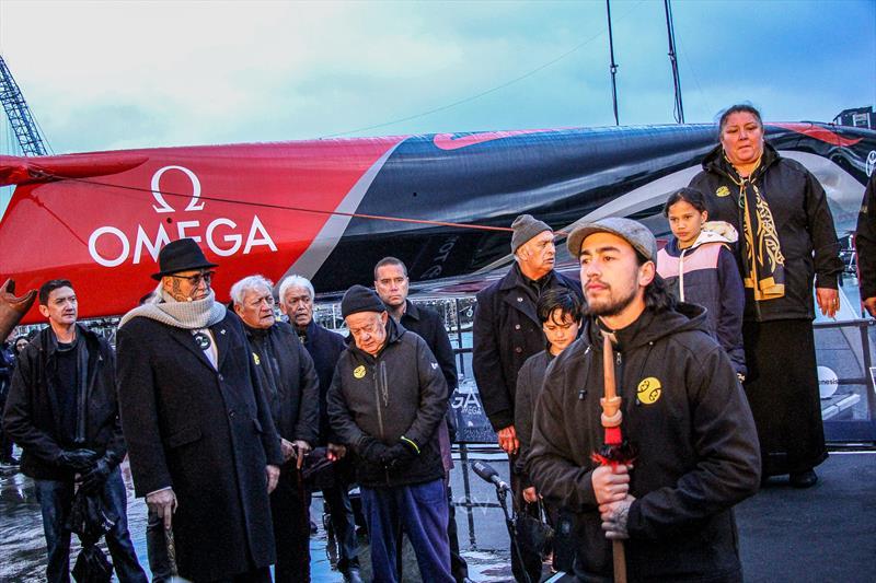 Ngati Whatua - Emirates Team New Zealand launch the world's first AC75, Auckland, September 6, - photo © Richard Gladwell / Sail-World.com