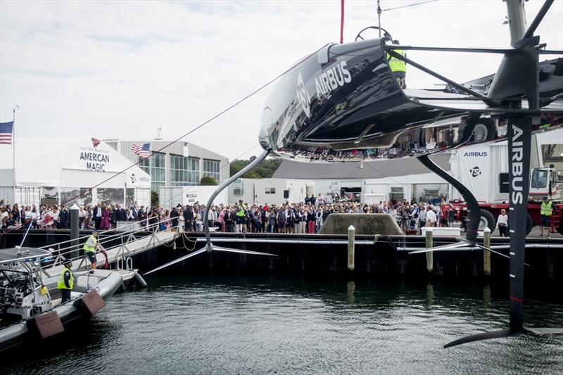 America's Cup: New York's Defiant officially named and launched