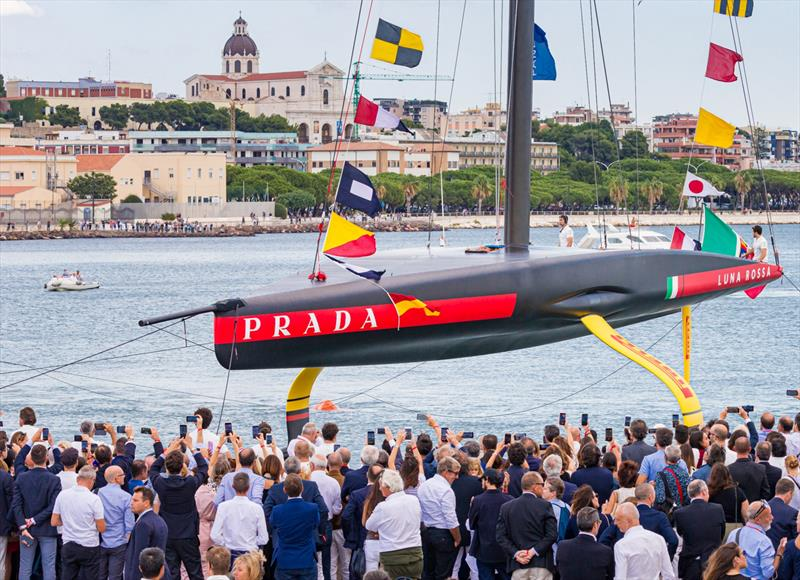 Luna Rossa Prada Pirelli - launching AC75 - Cagliari, Sardinia - October 2, 2019 - photo © Stefano Gattini