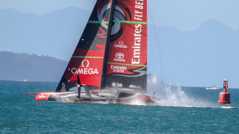 Emirates Team New Zealand - Waitemata Harbour - October 12, 2019 - photo © Richard Gladwell / Sail-World.com