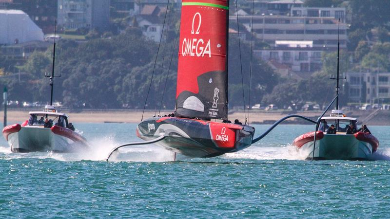 Emirates Team New Zealand's Te Aihe, Wiatemata Harbour, November 4, 2019 - photo © Richard Gladwell, Sail-World.com / nz