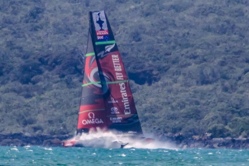 Emirates Team New Zealand's Te Aihe, Waitemata Harbour, November 7, 2019 - photo © Richard Gladwell / Sail-World.com