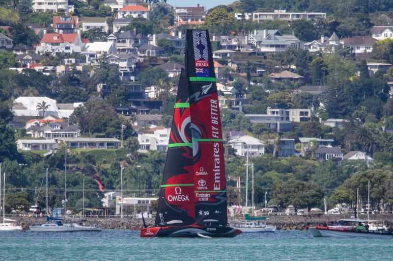 - Te Aihe - Waitemata Harbour - December 10, 2019 - photo © Richard Gladwell / Sail-World.com