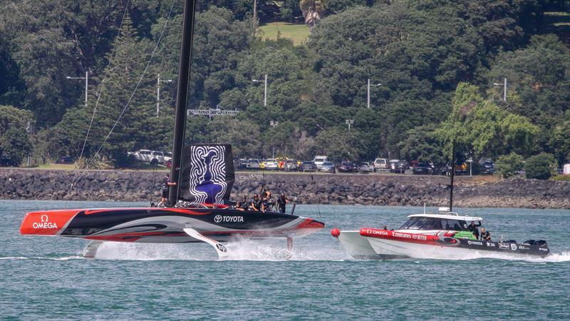Emirates Team New Zealand heading for The Paddock - January 8, 2020 - photo © Richard Gladwell / Sail-World.com