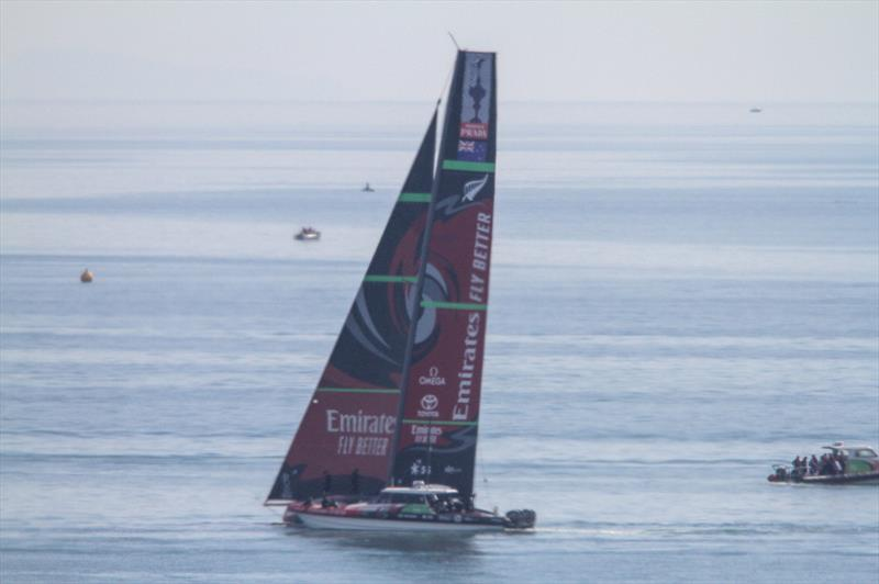 Emirates Team New Zealand - Waitemata Harbour - January 13, 2020 - photo © Richard Gladwell / Sail-World.com