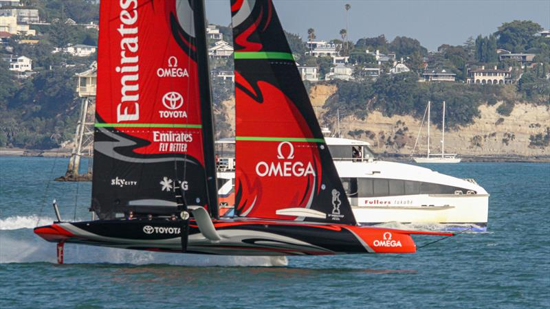 Emirates Team New Zealand - Waitemata harbour - January 15, 2020 - photo © Richard Gladwell / Sail-World.com