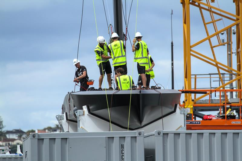 - Emirates Team New Zealand - Test boat launch - January 22, 2020 - photo © Richard Gladwell / Sail-World.com