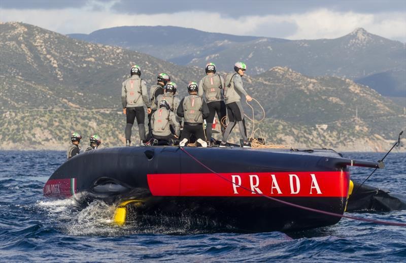 America's Cup: Luna Rossa abandonne son gréement en Sardaigne