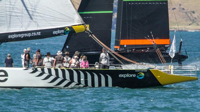 - Te Kahu - Emirates Team New Zealand - Waitemata Harbour - February 20, 2020 - photo © Richard Gladwell / Sail-World.com