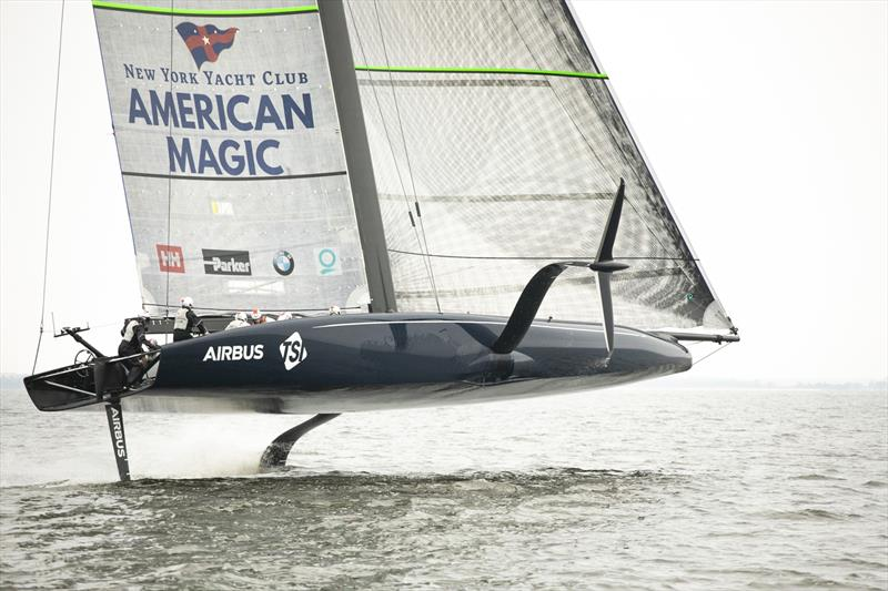 American Magic - Pensacola - New York Yacht Club - America's Cup - February 2020 photo copyright American Magic / Dylan Clarke taken at New York Yacht Club and featuring the AC75 class