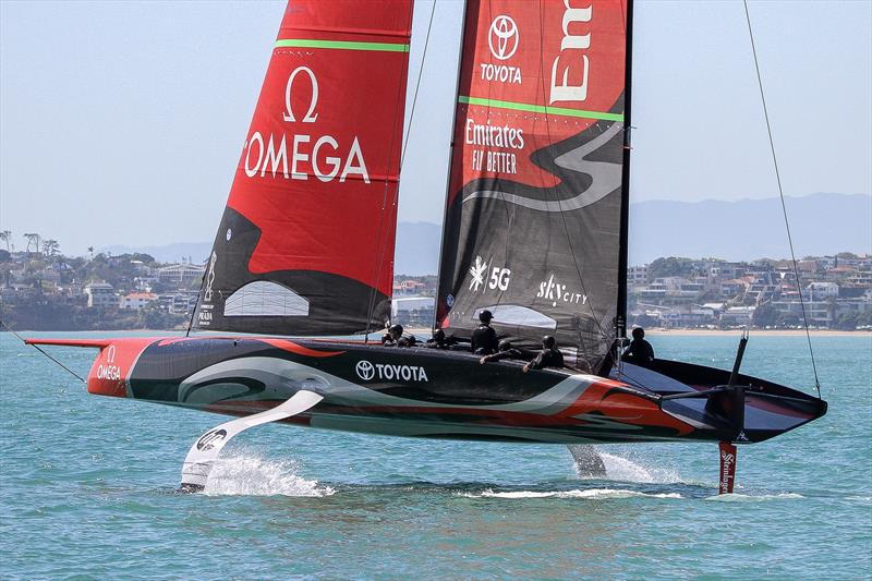 Emirates Team New Zealand - Waitemata Harbour - November 4, 2019 - photo © Richard Gladwell / Sail-World.com