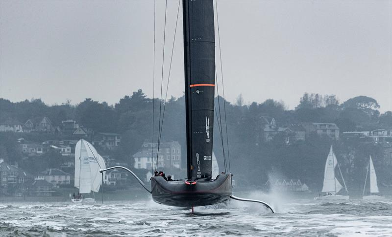 INEOS Team UK training on the Solent - May 2020 - photo © Lloyd Images
