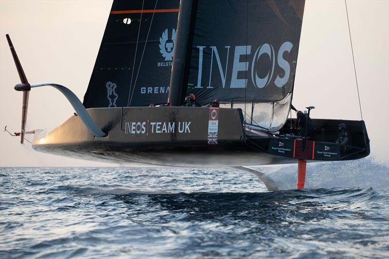 INEOS Team UK training off Cagliari, Sardinia - March 2020 - photo © Lloyd Images