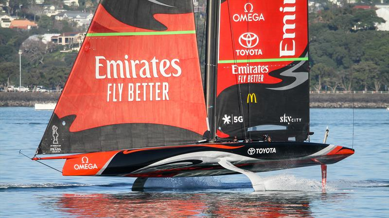 Emirates Team NZ returns - America's Cup - Auckland - June 30, 2020 - photo © Richard Gladwell / Sail-World.com