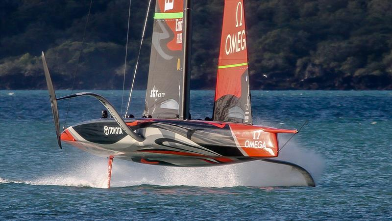 America's Cup: Spectacular images of Te Aihe