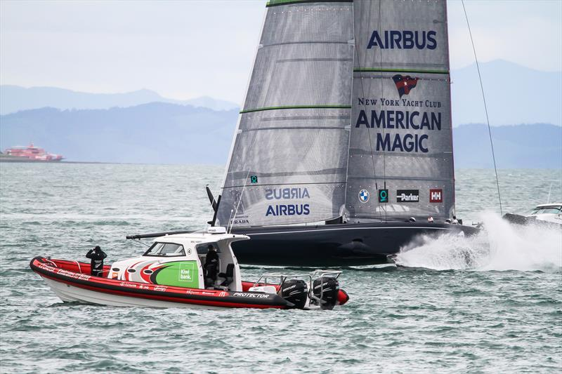 American Magic - Waitemata Harbour - Auckland - America's Cup 36-30 juillet 2020 - photo © Richard Gladwell / Sail-World.com