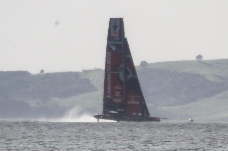 Te Aihe - Study shot - AC75 practice Hauraki Gulf - August 13, 2020 - 36th America's Cup - photo © Richard Gladwell / Sail-World.com