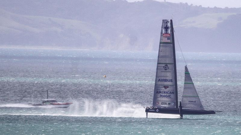 American Magic - Waitemata Harbour - August 26, 2020 - 36th America's Cup - photo © Richard Gladwell / Sail-World.com
