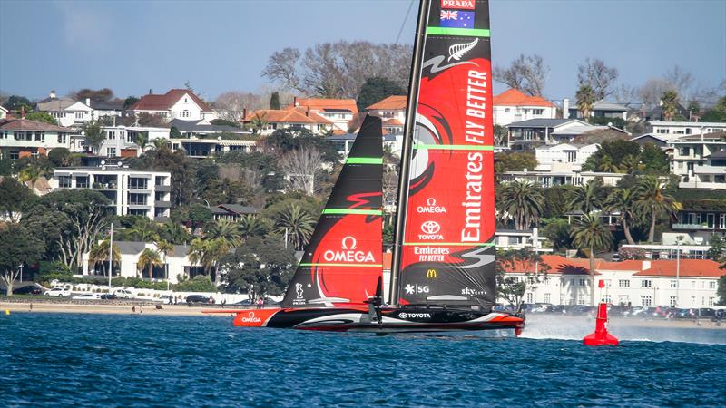 Emirates Team New Zealand - Waitemata Harbour - August 28, 2020 - 36th America's Cup - photo © Richard Gladwell / Sail-World.com / nz