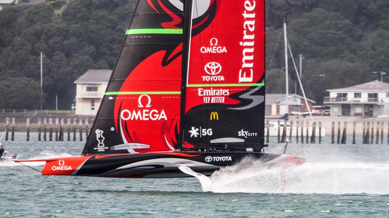 Emirates Team New Zealand - Waitemata Harbour - August 30, 2020 - 36th America's Cup - photo © Richard Gladwell / Sail-World.com