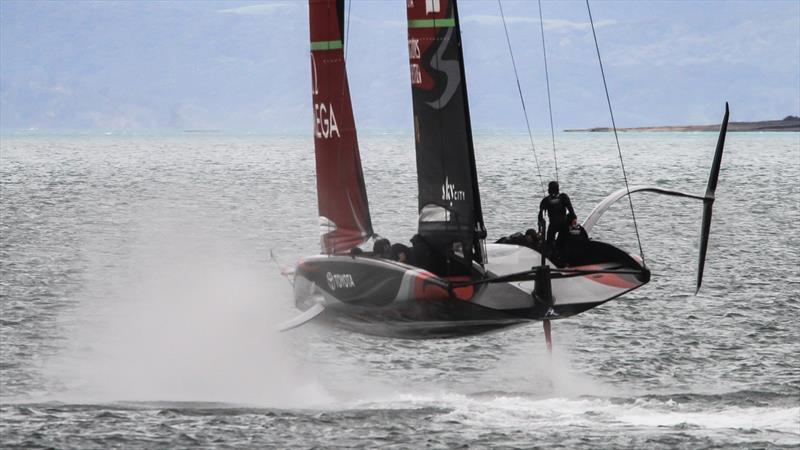 Emirates Team New Zealand - Waitemata Harbour - August 30, 2020 - 36th America's Cup - photo © Richard Gladwell / Sail-World.com