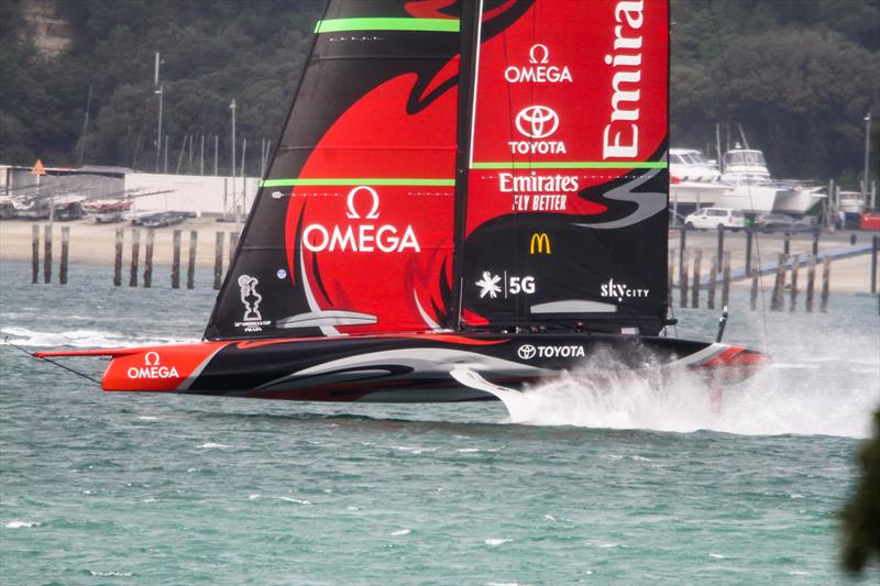 Emirates Team New Zealand - Waitemata Harbour - August 30, 2020 - 36th America's Cup - photo © Richard Gladwell / Sail-World.com / nz