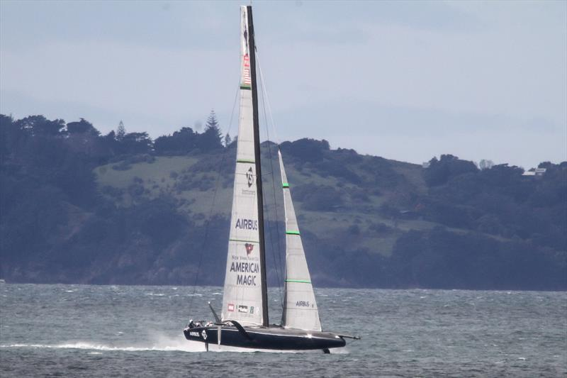 American Magic  - Waitemata Harbour - September 5, 2020,  36th America's Cup - photo © Richard Gladwell / Sail-World.com