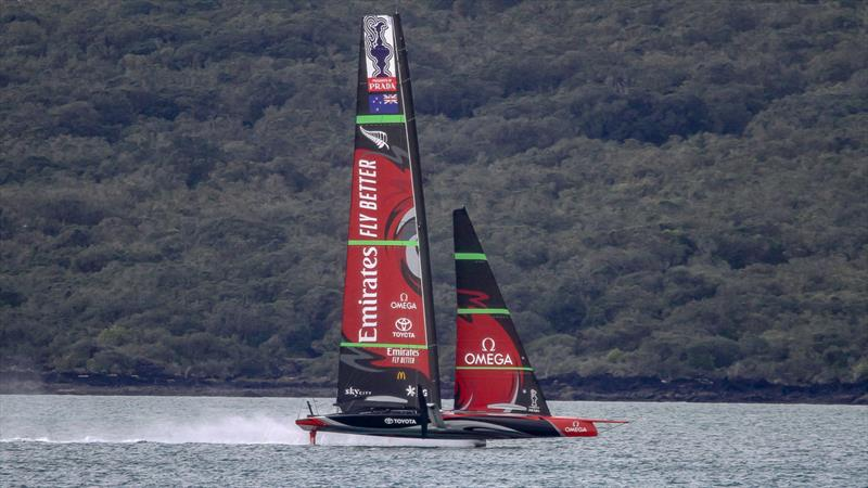 Emirates Team New Zealand - Waitemata Harbour - September 5, 2020,  36th America's Cup - photo © Richard Gladwell / Sail-World.com