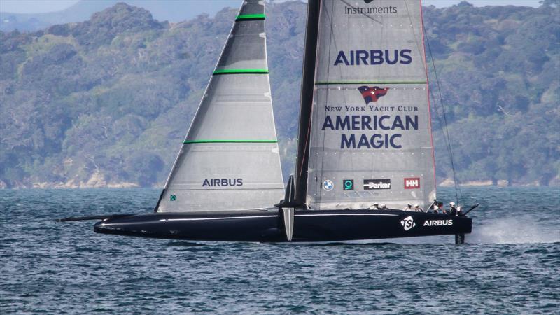 American Magic - Waitemata Harbour - August 2020 - 36th America's Cup - photo © Richard Gladwell / Sail-World.com