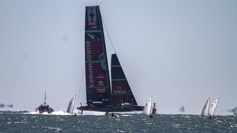 Emirates Team New Zealand - Waitemata Harbour - September 12, 2020 - 36th America's Cup - photo © Richard Gladwell / Sail-World.com
