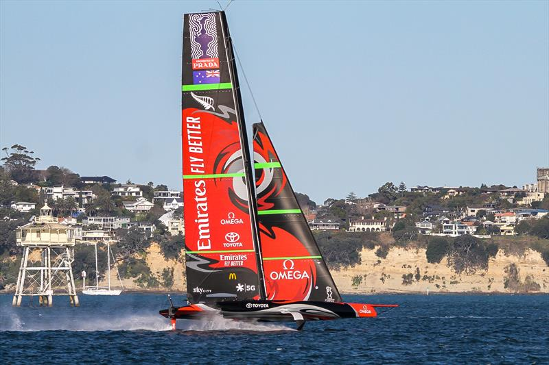 Emirates Team New Zealand - Waitemata Harbour - September 12, 2020 - 36th America's Cup - photo © Richard Gladwell / Sail-World.com / nz