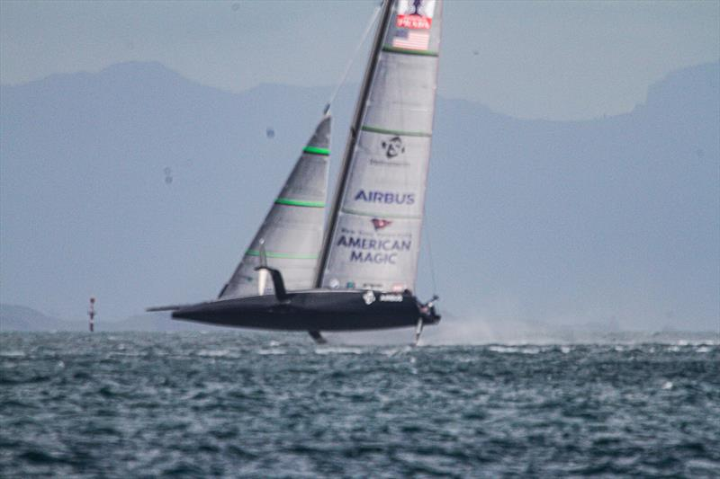 American Magic - Waitemata Harbour - September 14, 2020 - 36th America's Cup - photo © Richard Gladwell / Sail-World.com