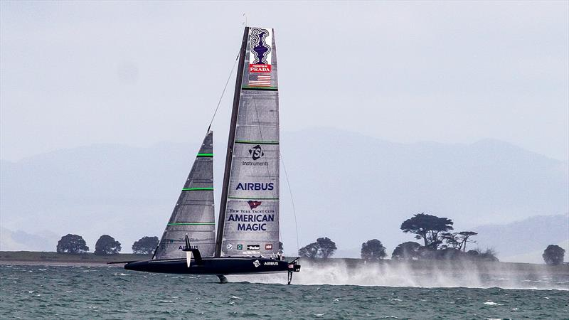 American Magic - Waitemata Harbour - September 14, 2020 - 36th America's Cup photo copyright Richard Gladwell / Sail-World.com taken at Royal New Zealand Yacht Squadron and featuring the AC75 class