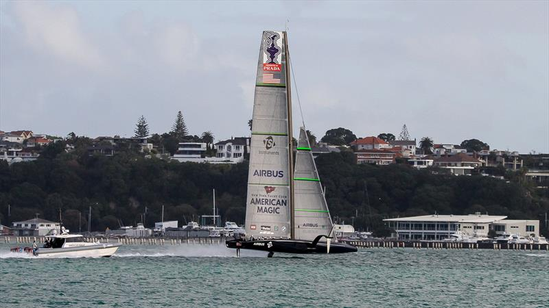 American Magic - Waitemata Harbour - September 18, 2020, - 36th America's Cup - photo © Richard Gladwell - Sail-World.com / nz