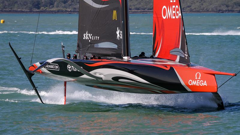 Emirates Team New Zealand - Waitemata Harbour - September 21, 2020 - 36th America's Cup - photo © Richard Gladwell / Sail-World.com