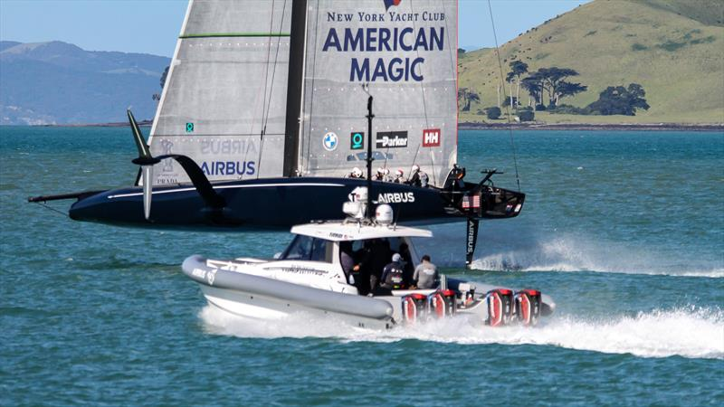 American Magic - Waitemata Harbour - September 21, 2020 - 36th America's Cup - photo © Richard Gladwell / Sail-World.com