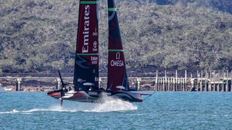Emirates Team New Zealand - Waitemata Harbour - October 3, 2020 -  36th America's Cup - photo © Richard Gladwell / Sail-World.com