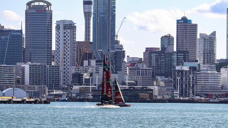 Emirates Team New Zealand - Waitemata Harbour - October 3, 2020 - 36th America's Cup - photo © Richard Gladwell / Sail-World.com / nz