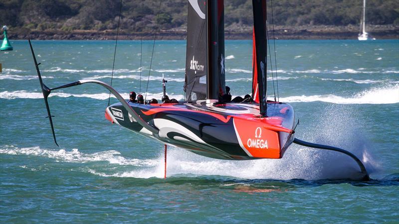 Emirates Team New Zealand - Waitemata Harbour - September 21, 2020 - 36th America's Cup - photo © Richard Gladwell, Sail-World.com